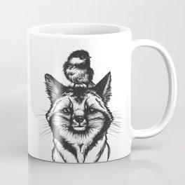 Little Fox & Bluetit (Kleiner Fuchs und Blaumeise) Friends - You & Me Coffee Mug