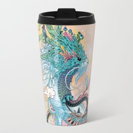 Journeying Spirit (ermine) Travel Mug