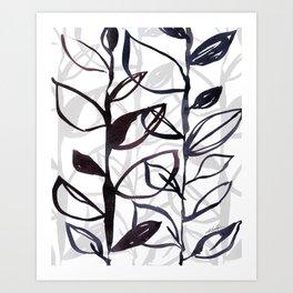 Botanical Joy No 6 by Kathy Morton Stanion Art Print