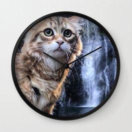 Bobby Joe <3 Waterfalls Wall Clock