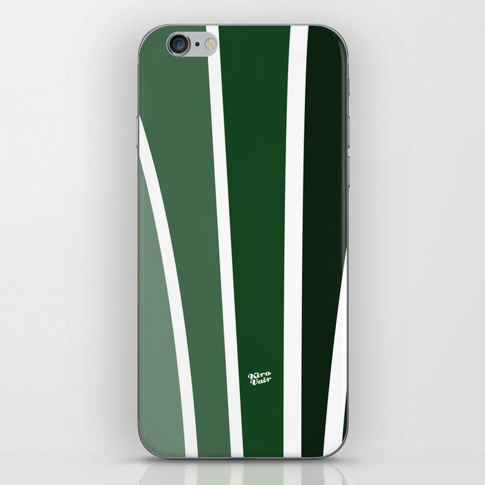 Kirovair Art Deco Green #minimal #art #design #kirovair #buyart #decor #home iPhone Skin