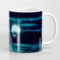 howl Mugs featuring Howl by Lunar Eclipse