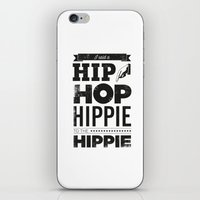 hip hop iPhone & iPod Skins featuring Hip Hop by Leeroy