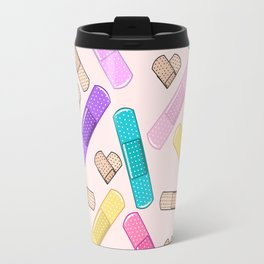 Retro Bandages Travel Mug