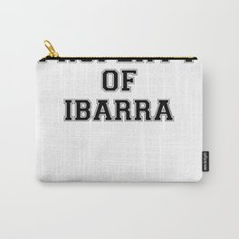 Property of IBARRA Carry-All Pouch
