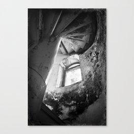 Klein Curaçao (Little Curacao) Lighthouse (interior) Canvas Print