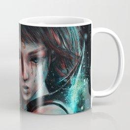 Skull Mage Dark Fantasy Original Character Painting Coffee Mug