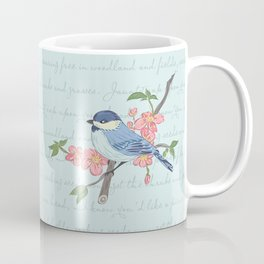 Blue Chickadee Coffee Mug
