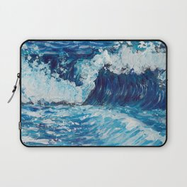 Crest of a Wave Laptop Sleeve