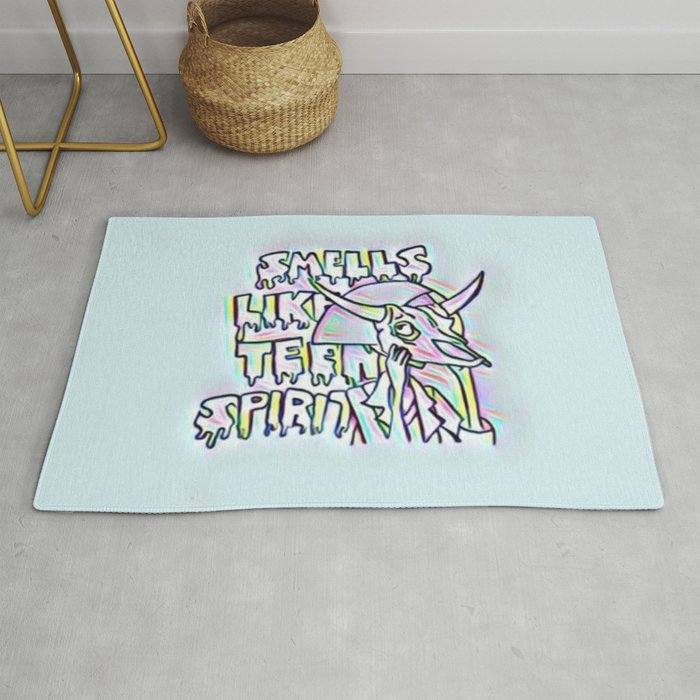 Smells Like Teen Spirit Rug by her