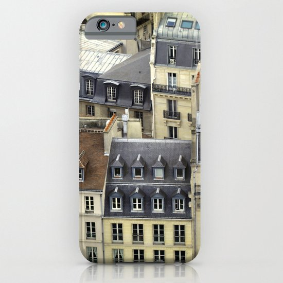 Paris Rooftop #2 iPhone & iPod Case