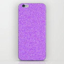 Melange - White and Violet iPhone Skin