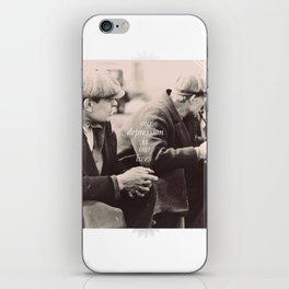 ♡ The Depression lives on ♡ iPhone Skin