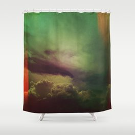 rising clouds Shower Curtain