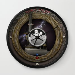 The Shadowed Keep Wall Clock