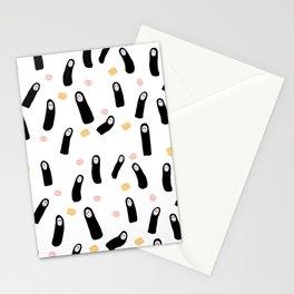 Kawaii No Face Stationery Cards