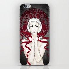 I GAVE YOU A  RIBBON iPhone & iPod Skin