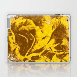 Yellow Rose Watercolor Laptop & iPad Skin