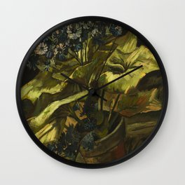 Cineraria by Vincent van Gogh Wall Clock