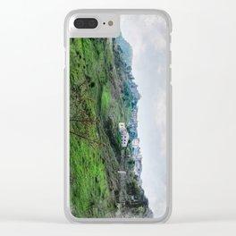 Erice art 5 Clear iPhone Case