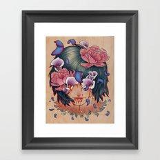 Stains Framed Art Print