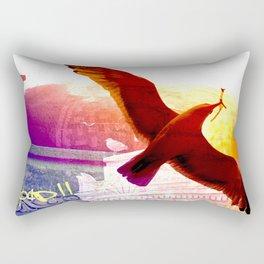 City Birds 01 Rectangular Pillow