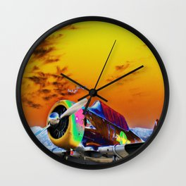 Sunset Air Wall Clock