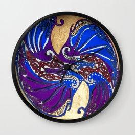 Draconis Ying Yang Wall Clock