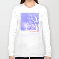 georgia Long Sleeve T-shirts featuring Georgia Dusk by Ludwig Van Bacon