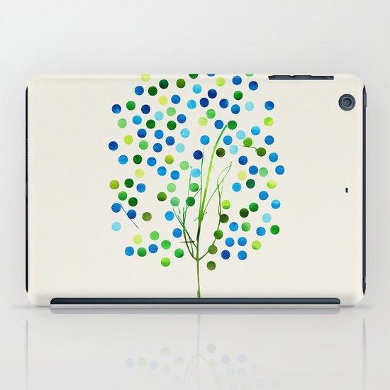 Tree of Life_Aqua by Jacqueline and Garima iPad Case