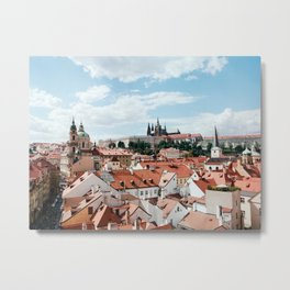 Prague Castle Metal Print