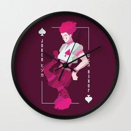 Card of Joker Wall Clock
