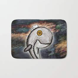 Woody the Whale Bath Mat