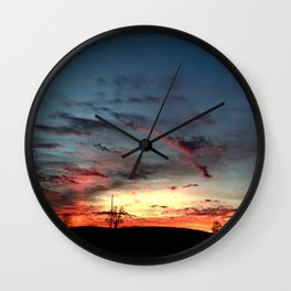 Just a hint of natural color Wall Clock