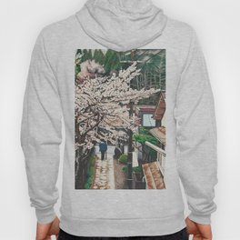 Passing by Cherry Blossoms Hoody