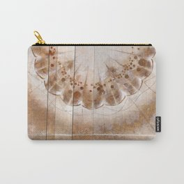 Chowders Weave Flowers  ID:16165-160051-47851 Carry-All Pouch
