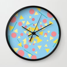 Chaos around you Wall Clock
