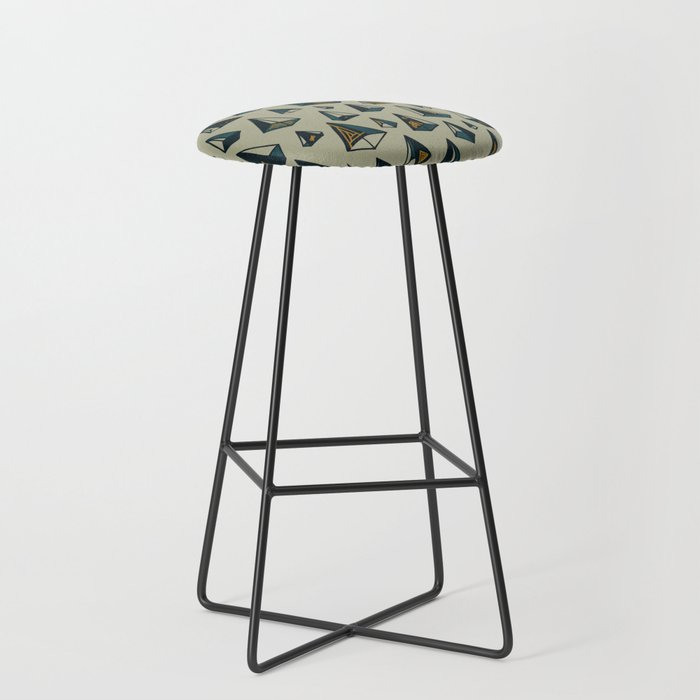 Triangles Are My Favorite Shape Bar Stool by againstbound ...