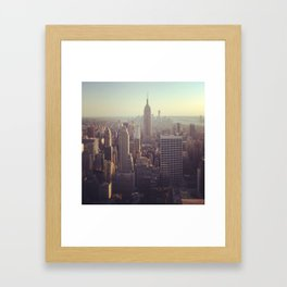 New York 7 Framed Art Print