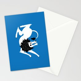 Dancing Beasts: Lion Stationery Cards