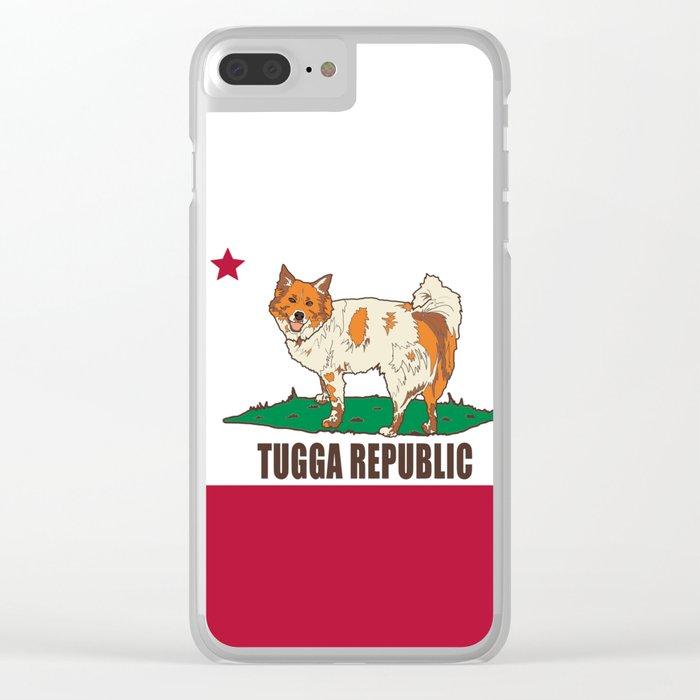 Tugga Republic Clear iPhone Case