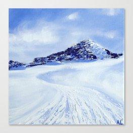 Hintertuxer Glacier Canvas Print