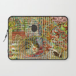 Prioritizing the Preservation of Favoured Struggles: Our Mesmerizing Bucket of Worms Laptop Sleeve