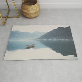 boat reflections ... Rug