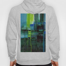 A Journey Into Abstract Thought No.1l by Kathy Morton Stanion Hoody