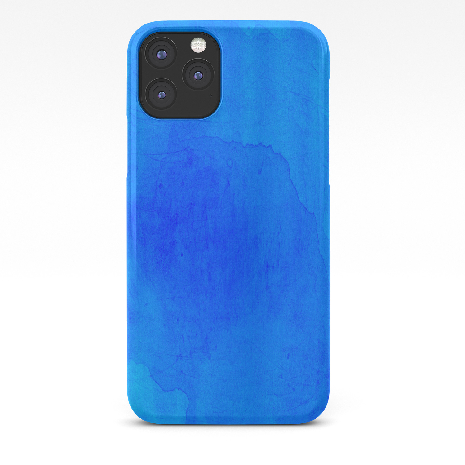 Dark Blue Watercolor Background Iphone Case By Camilia Society6