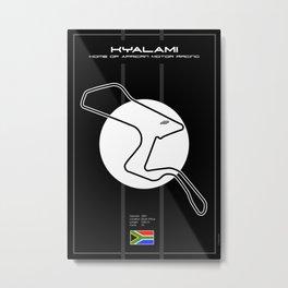 Kyalami Metal Print