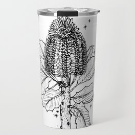 Banksia Illustration Travel Mug