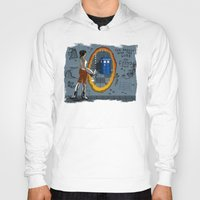 aperture Hoodies featuring In Need of a Companion by Miss-Lys