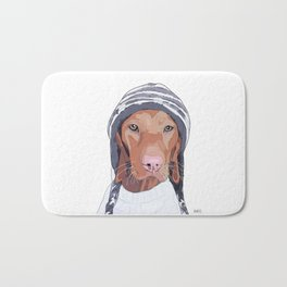 Vizsla Dog Bath Mat